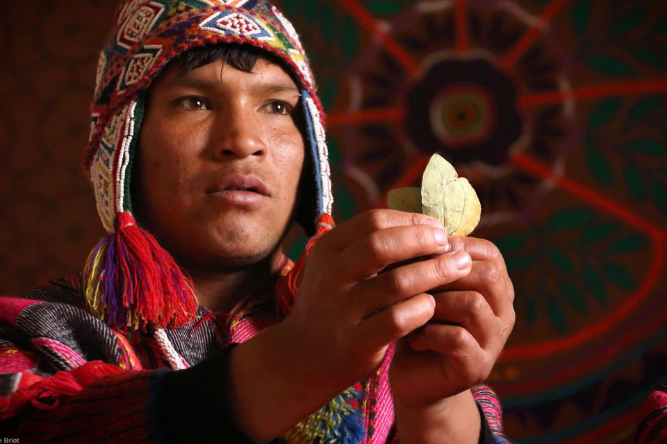Andean Coca Leaf Ceremony of Unification