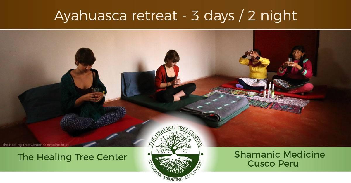 Ayahuasca retreat - 3 days / 2 night